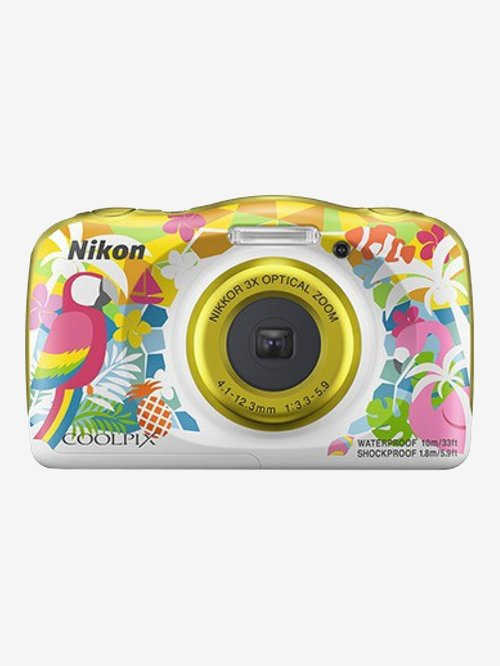 Nikon Coolpix W150 13.2 MP Point & Shoot Camera with 16GB SD Card + Carry Case + HDMI Cable (Resort)