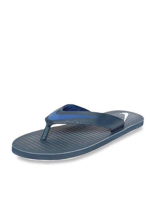best loved 390dd 78357 Buy Nike Chroma Thong 5 Navy Flip Flops for Men at Best ...
