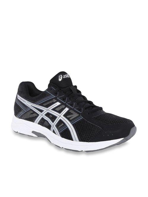 muutaman päivän päässä valtava myynti fantastinen säästö Buy Asics Gel-Contend 4 Black Running Shoes for Men at Best Price @ Tata  CLiQ