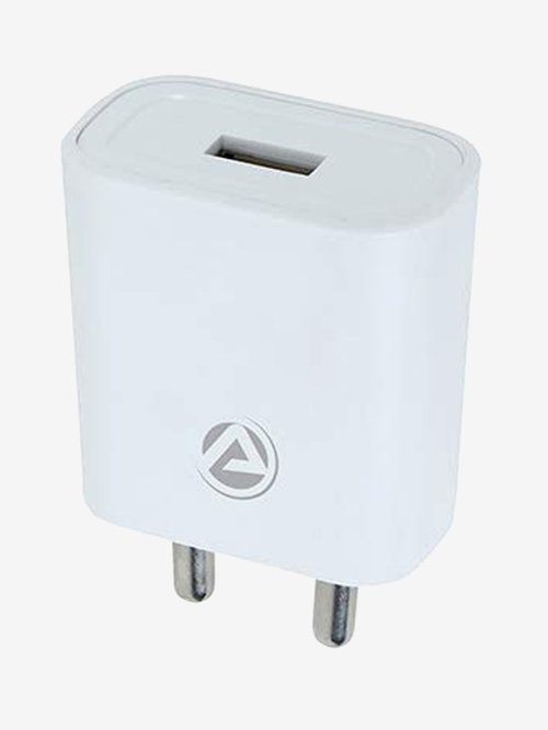 ARU AR 155 2 Amp Fast Charger with Charge and Sync USB Cable  White