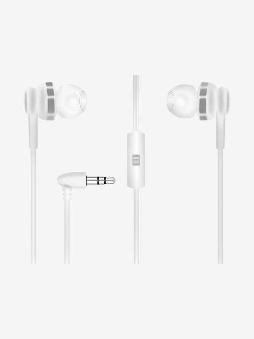 Aru Aep 10 Champ In Ear Headset With Mic  White