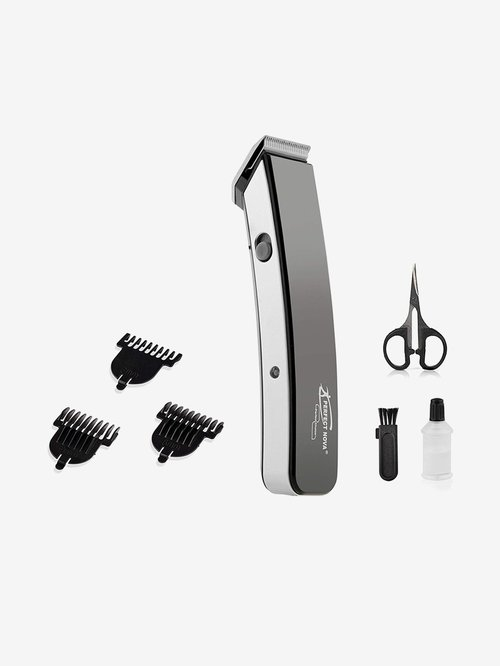Perfect Nova PNHT 9048 Rechargeable Cordless Beard Trimmer for Men  Black