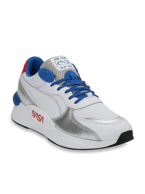Buy Puma RS 9.8 X Nasa White & Silver Sneakers for Men at Best Price @ Tata  CLiQ