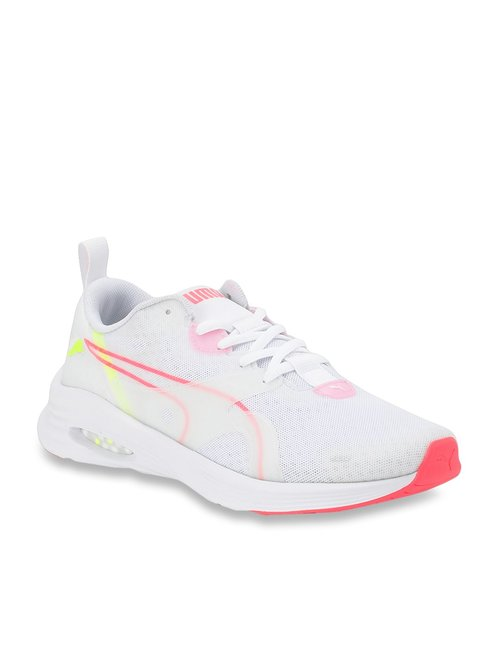 Puma Hybrid Fuego White Running Shoes