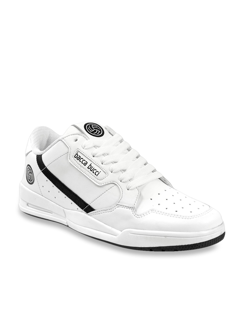 Bacca Bucci White Casual Sneakers from