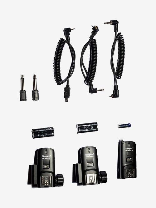 Simpex 684 Mark IV High Speed TTL Flash Trigger (Black)