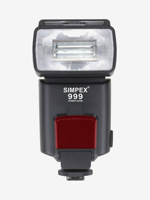 Simpex S999F Power Zoom Flash for Camera (Black)
