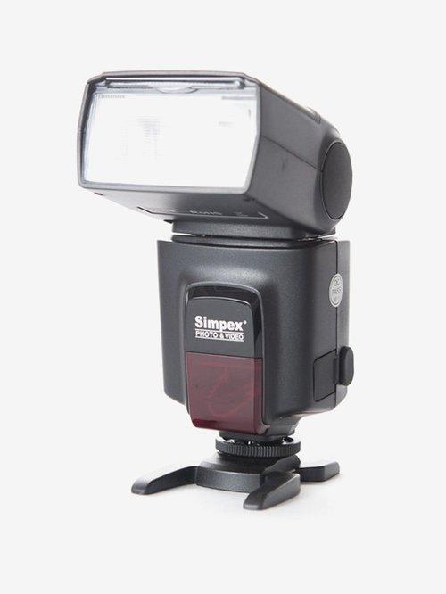 Simpex F-522 Flash Speed Light for Camera (Black)
