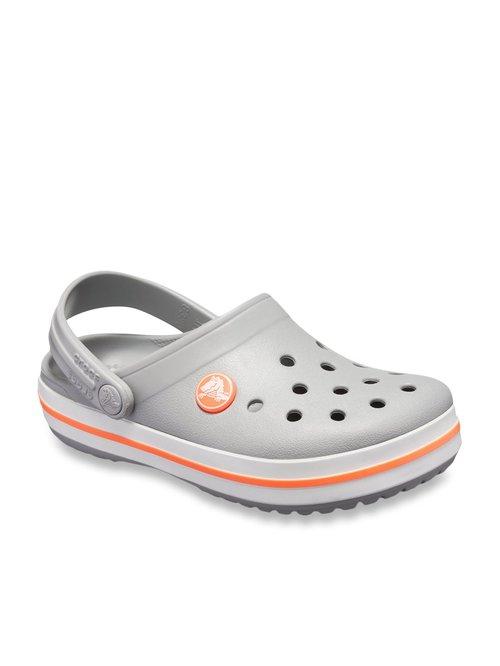 Buy Crocs Kids FunLab Grey Back Strap Clogs for Girls at Best Price @ Tata CLiQ