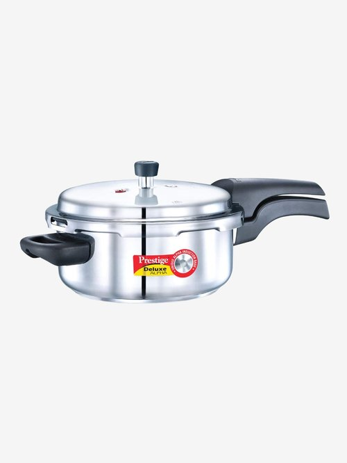 Prestige Deluxe Alpha 3L Pressure Cooker  Silver
