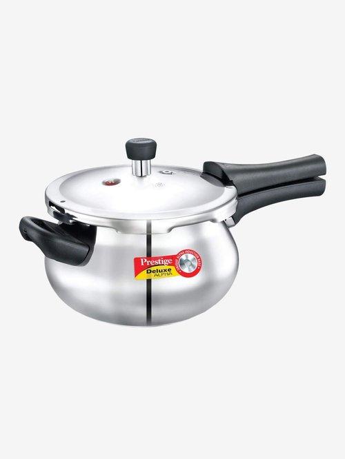 Prestige Deluxe Alpha 3.3L Pressure Cooker  Silver