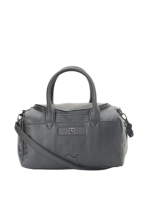 Puma Black Small Duffle Bag
