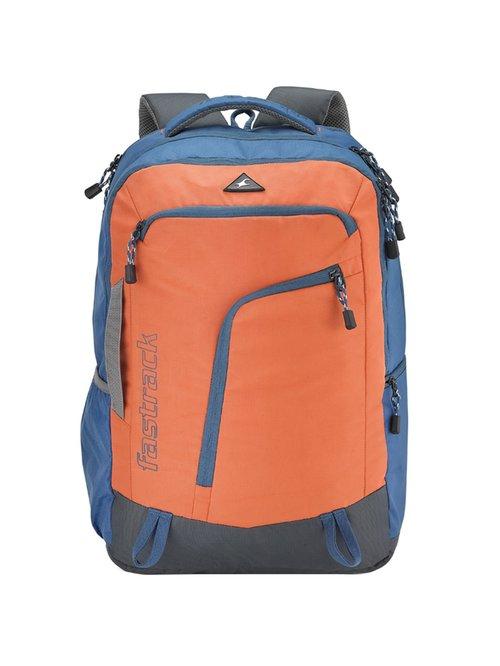 Fastrack Orange   Blue Medium Backpack