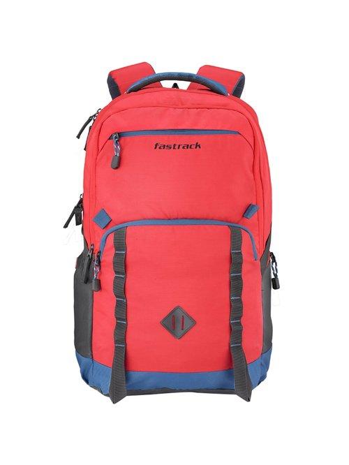 Fastrack Red   Blue Medium Backpack