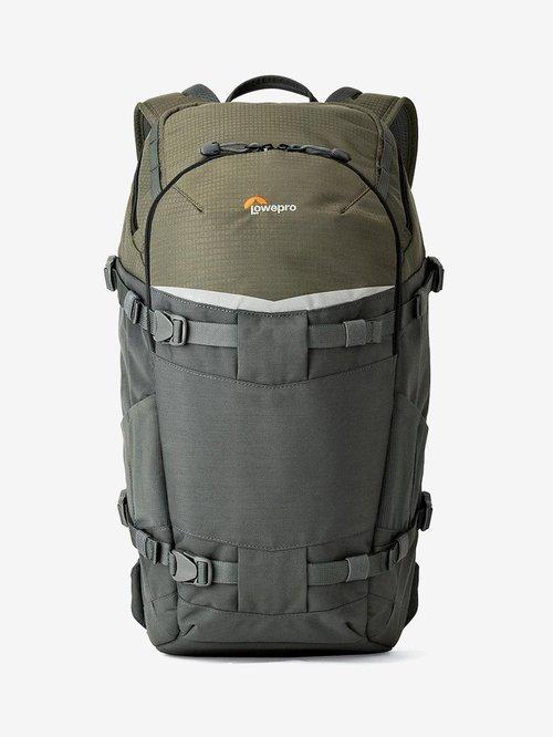 LowePro Flipside Trek BP 350 AW Camera Bag  Grey and Dark Green