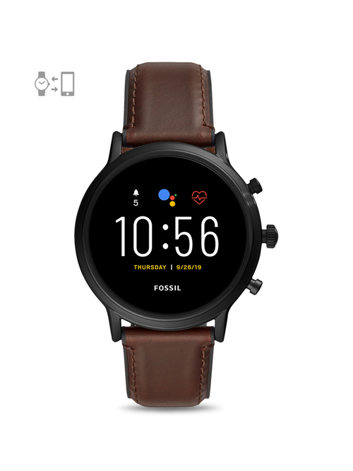 Fossil FTW4026 The Carlyle HR Gen-5 Smartwatch for Men