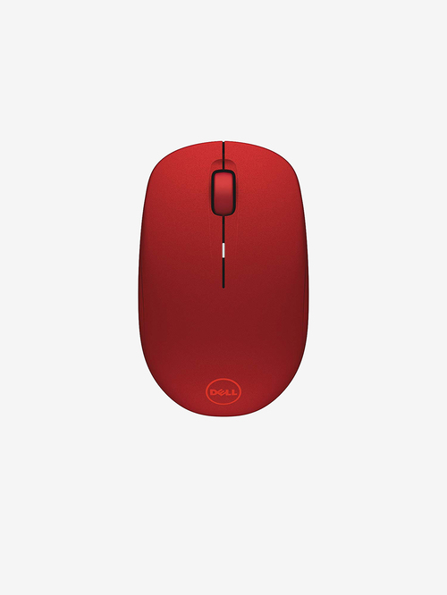 Dell WM126 Wireless Mouse  Red  Dell Electronics TATA CLIQ