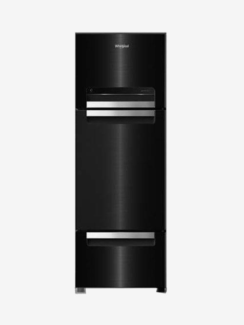 Whirlpool 260L Frost Free Triple Door Refrigerator  Steel Onyx, FP 283D Royal Protton