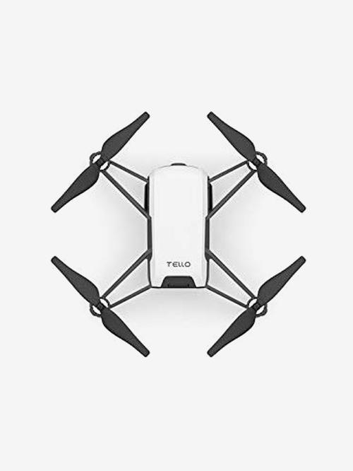 DJI Tello 5MP 720p Wi-Fi 8D Flips Quadcopter Stem Coding Drone Camera (White)