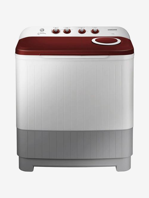 Samsung 7.2 kg Semi Automatic Top Load Washing Machine 740 RPM  WT72M3000HP/TL, Light Grey  Samsung Electronics TATA CLIQ