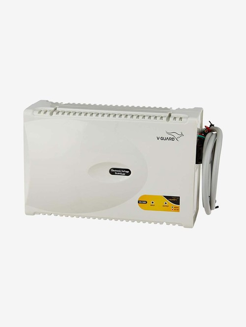 V Guard VG 500 Voltage Stabilizer for Air Conditioners  Grey