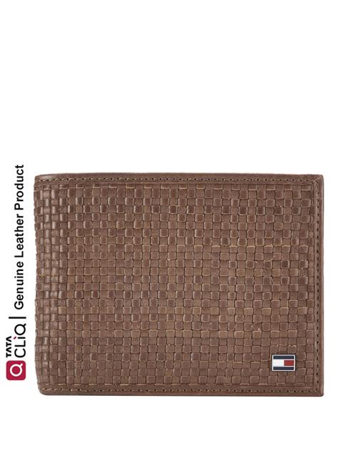 Tommy Hilfiger Waylon Tan Casual Leather Bi Fold Wallet for Men