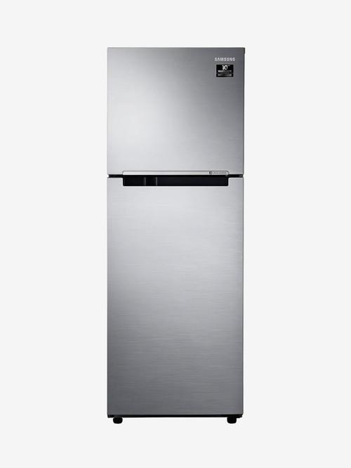 Samsung 251L Inverter 2 Star 2020 Frost Free Double Door Refrigerator  Elegant Inox, RT28T3082S8