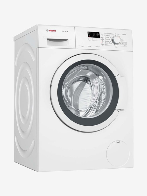 Bosch 6.5 kg Front Load Fully Automatic Washing Machine 1000 RPM  WAK2006HIN, White