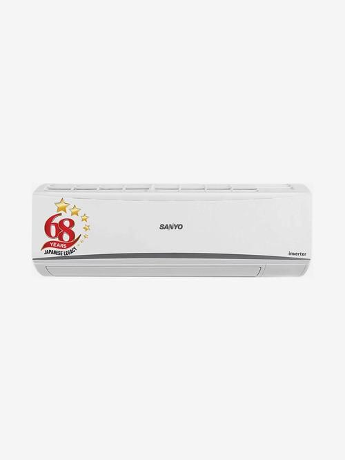Sanyo 1 Ton Inverter 5 Star Copper  2020 Range  SI/SO 10T5SCIC  R32  Split AC  White