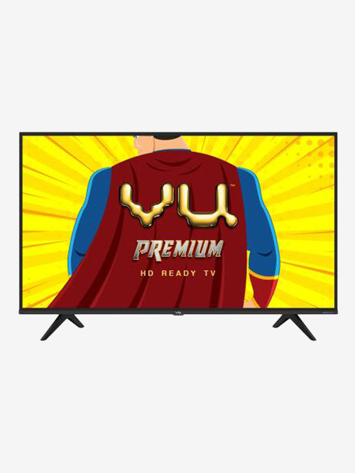 Vu Premium 80 cm  32 Inches  Android Smart HD Ready LED TV 32US  2020 Model, Black