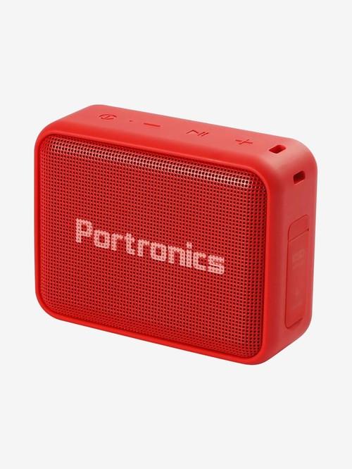Portronics Dynamo 5W Wireless Bluetooth TWS Speaker  POR 738, Red