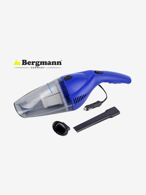 Bergmann Tornado 60W Car Vacuum Cleaner with HEPA Filter  Blue  Bergmann Electronics TATA CLIQ