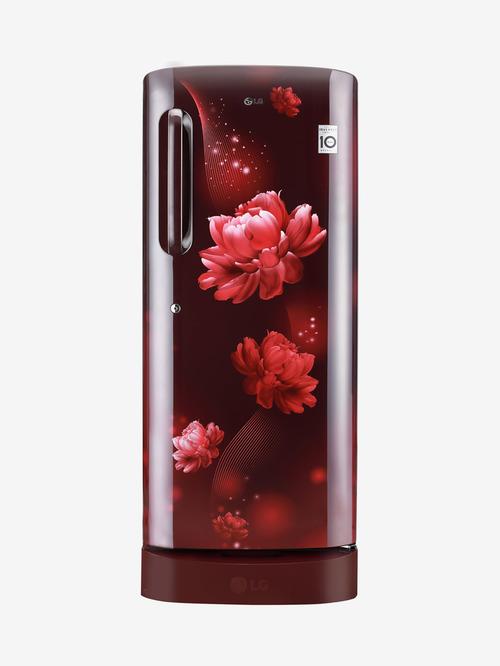 LG 235 L Inverter 4 Star  2020  Direct Cool Single Door Refrigerator  Scarlet Charm, GL D241ASCY