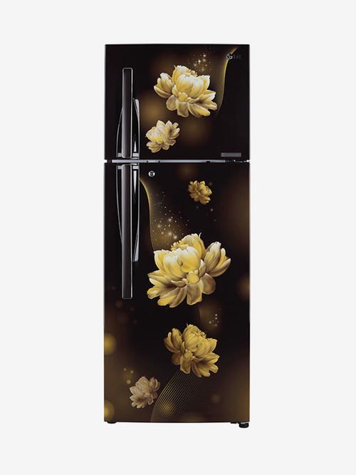 LG 284 L Inverter 2 Star  2020  Frost Free Double Door Refrigerator  GL T302RHCY, Hazel Charm