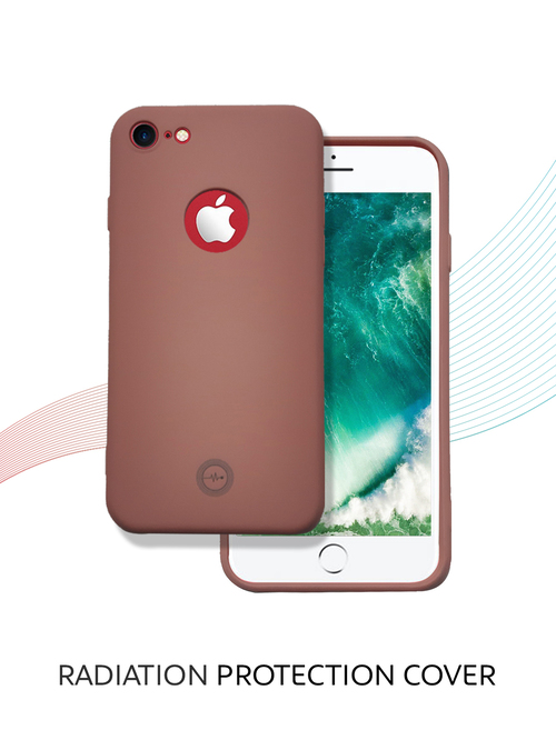 ENVIROCOVER back cover with radiation protection technology for Apple iPhone 7  Pink