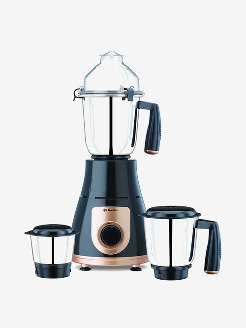Bajaj GX 3701 750 W Mixer Grinder  (Black, Gold, 3 Jars)