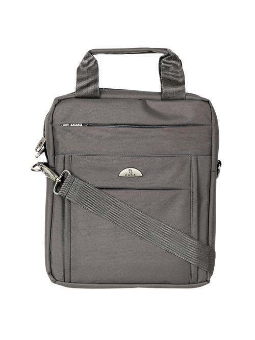 Kara Grey Small Laptop Messenger Bag