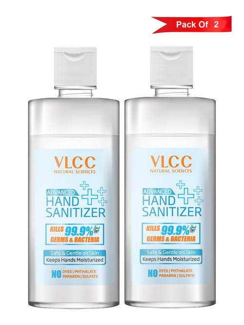 VLCC Advanced Hand Sanitizer  500 ml    Pack of 2 VLCC HomeFurnishing TATA CLIQ