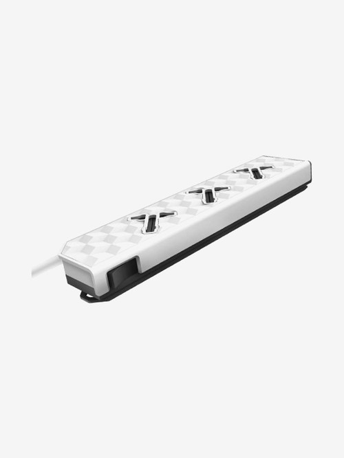 Allocacoc PowerStrip Modular 3 Socket Extension Board  10327/PMUNIN, White  Allocacoc Electronics TATA CLIQ