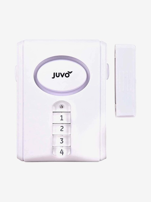 Juvo HSB02 Wireless Door and Window Alarm  White