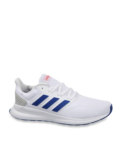 Remo Forzado Cuestiones diplomáticas  Adidas Men's Runfalcon White Running Shoes from Adidas at best prices on  Tata CLiQ