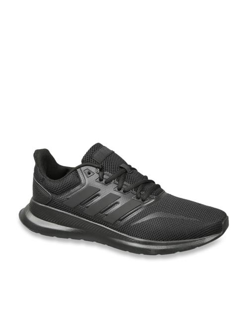 adidas leder black shoes mens