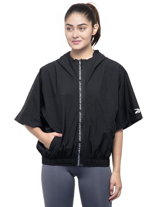Reebok Black Regular Fit Sweatshirt