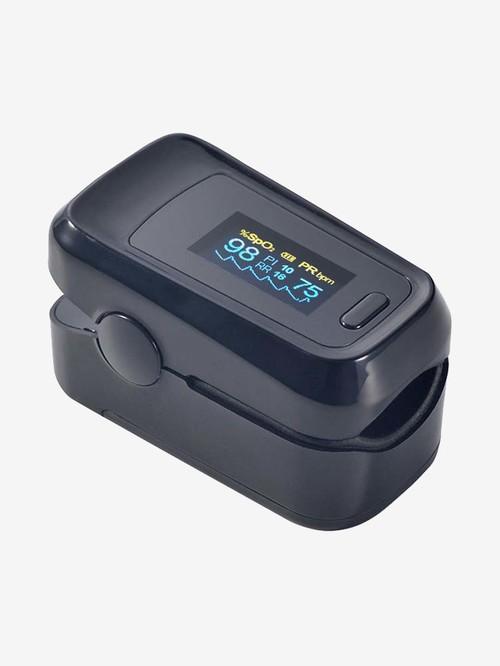 Sahyog Wellness Advanced OLED Type Fingertip Pulse Oximeter (Black)