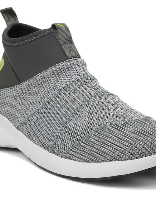 Puma Mono Knit X IDP Grey Walking Shoes