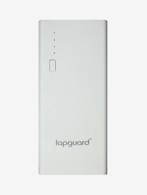 Lapguard LG514 10400 mAh 2.1 Amps Power Bank  White  Lapguard Electronics TATA CLIQ