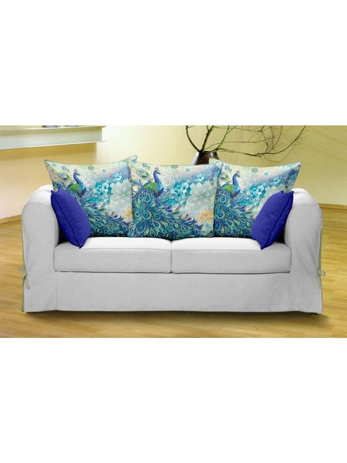 Bianca Ruyal Multicolour Cushion Covers   Pack of 3