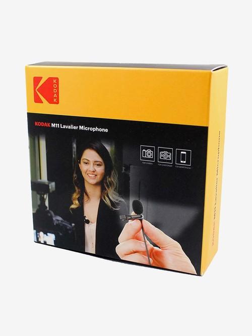 Kodak M11 2.5mm Lavalier Microphone with Adapter  Black