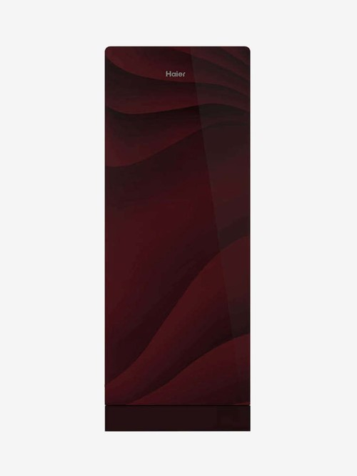 Haier 220L 3 Star 2020 Direct Cool Single Door Refrigerator  Red, HRD 2203PWG E