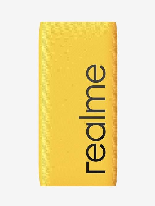 RealMe 10000 mAh 18W Power Bank 2  Yellow